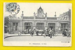 VINCENNES La Gare (BF) Val De Marne (94) - Vincennes