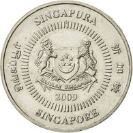 Singapour, 50 Cents, 2009, Singapore Mint, SUP, Copper-nickel, KM:102 - Singapour