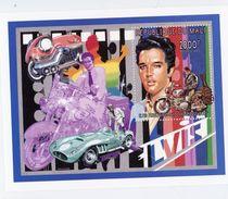 MALI 1997-Elvis,moto,voitures-B54***MNH - Elvis Presley