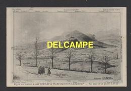 DD / GUERRE 1914 - 18 / 68 HAUT-RHIN / REGION DES COMBATS DEVANT CERNAY ET HARTMANNSWILLERKOPF / ILLUSTRATION / 1915 - Guerra 1914-18