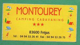 CAMPING MONTOUREY 83600 FREJUS /  AUTOCOLLANT - Autocollants