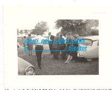 Photo Voiture Automobile Citroen DS DEESSE Et Simca ? Le 2 Juillet 1966 à CHALLET 28 / Généalogie SICOT - Coches