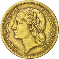 France, Lavrillier, 5 Francs, 1946, Castelsarrasin, TTB, Aluminum-Bronze - France