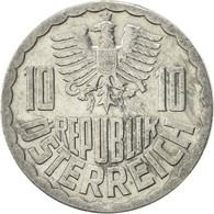 Autriche, 10 Groschen, 1981, Vienna, SUP, Aluminium, KM:2878 - Autriche