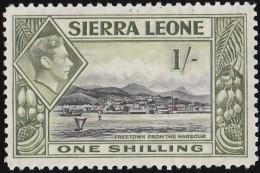 SIERRA LEONE - Scott #181 Freetown Harbor / Mint H Stamp - Sierra Leone (...-1960)