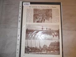 Origineel Knipsel ( 177 ) Uit Tijdschrift   -   Ommegang Te Elinghen  Elingen   1928 - Ohne Zuordnung