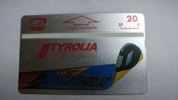Austria-(p437)-tyrolia-verein-(411l)-(20ein)-tirage-7.000-+1card Prepiad Free - Austria