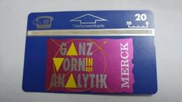 Austria-(p441)-merck-analytik-(411l)-(20ein)-tirage-2.175-+1card Prepiad Free - Austria