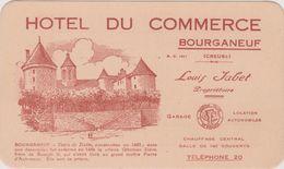2 3 Bourganeuf Hotel Du Commerce Publicite - Reclame