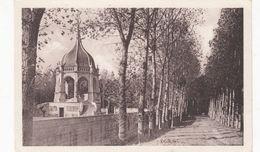 Cp , 56 , SAINTE-ANNE-d'AURAY , Vue Sur Le Monument Aux Morts - Sainte Anne D'Auray