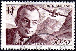 France Oblitération Cachet à Date N° PA  21 Antoine De Saint Exupéry - Avion - Pilote - Poste Aérienne