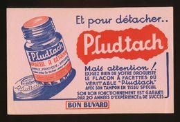 Buvard  -  Detachant - PLUDTACH - Buvards, Protège-cahiers Illustrés