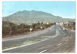 Repubblica Di S. Marino - Monte Titano Visto Dall'autostrada - 1962 - Classic Car VW Kever / Coccinelle / Käfer - Esso - San Marino