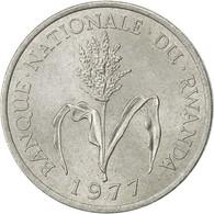 Rwanda, Franc, 1977, British Royal Mint, SUP, Aluminium, KM:12 - Rwanda