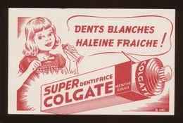 Buvard  -  Dentifrice COLGATE - Buvards, Protège-cahiers Illustrés