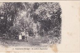 CPA SENEGAL - CASAMANCE - Au Puits à Ziguinchor - Senegal