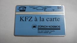 Austria-(p524)-zurich Kosmos2-(505l)-(50ein)-tirage-15.000-+1card Prepiad Free - Austria