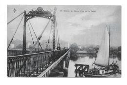 Willebroeck P634bis 17   Kaart 17 Boom La Grand Pont Sur Le Rupel  SBP 1906 - Willebroek