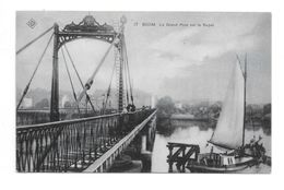 Willebroeck P634bis 17   Kaart 17 Boom La Grand Pont Sur Le Rupel  SBP 1906 - Willebrök