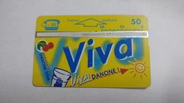 Austria-(p529)-viva-danone-(505l)-(50ein)-tirage-2.175-+1card Prepiad Free - Austria