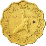 Paraguay, 10 Centimos, 1953, SUP, Aluminum-Bronze, KM:25 - Paraguay