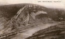 (Doubs)  CPA  Deluz  Sous Roche  (Bon Etat) - France