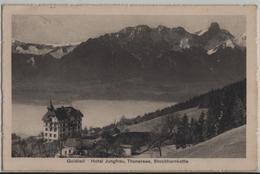Goldiwil - Hotel Pension Jungfrau, Thunersee, Stockhornkette - BE Berne
