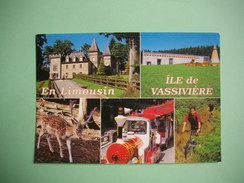 ILE DE VASSIVIERE  -  23  -  Multivues  -  CREUSE - Other Municipalities