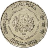 Singapour, 50 Cents, 1988, British Royal Mint, SUP, Copper-nickel, KM:53.1 - Singapour