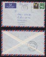 Nigeria 1962 Airmail Cover KADUAN Via KHARTOUM To TEHERAN Iran - Nigeria (1961-...)