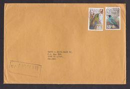 Trinidad & Tobago: Airmail Cover To Netherlands, 2 Stamps, Bird (traces Of Use) - Trinidad En Tobago (1962-...)