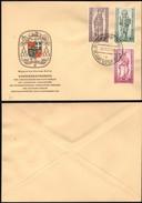 Germany 1956 - BERLIN W. FDC, '20 Jahre Bistum Berlin' MiNr. 132-134, Berlin-Charlottenburg 26.11.1956. - FDC: Buste