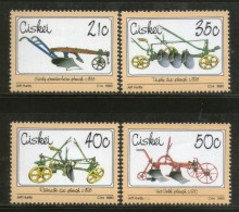 Ciskei 1990 Plough Reversible & Triple Disc Agriculture Tool Sc 155-8 MNH # 3750 - Agriculture
