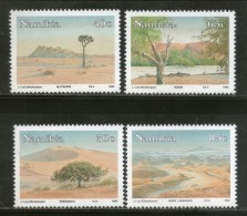 Namibia 1993 Namib Desert Sand Dunes Environment Tree Lake Sc 734-37 MNH # 2644 - Umweltschutz Und Klima