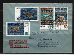 DDR - RECO-Beleg Mi-Nr. 1229 - 1232 Vorderasiatisches Museum Berlin - [6] Democratic Republic