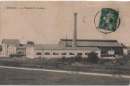 Cpa De COGNAC La Verrerie C.BOUCHER écrite En 1909 BE - Cognac