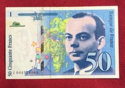 FRANCE 50 FRANCS 1992 - 1962-1997 ''Francs''