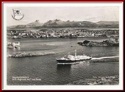 ★★ M/S RAGNVALD JARL Ved BODØ. NORDENFJELSKE 1964 ★★ FERRY BOAT. NORWAY ★★ - Norwegen