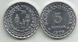 Indonesia 5 Rupiah 1979. UNC FAO KM#43 - Indonesia