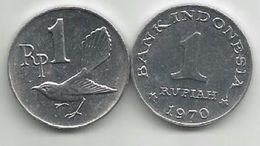 Indonesia 1 Rupiah 1970. High Grade - Indonesia
