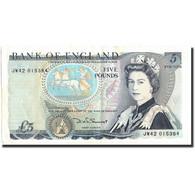 Grande-Bretagne, 5 Pounds, Undated (1971-91), KM:378c, TTB - 1952-… : Elizabeth II