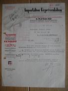 MAROC - CASABLANCA - Lettre Illustrée De 1939 - A.M. FALCOZ - Armes - Munitions - Autres