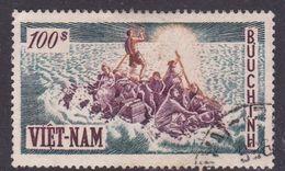 Vietnam South Scott 35 1955 1st Anniversary Flight  100 Pi Used - Vietnam