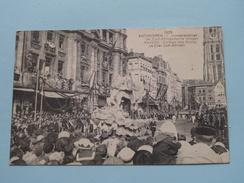 Juweelenstoet : De Zuidafrikaansche Wagen - Anno 1923 ( Zie Foto´s Voor Details ) !! - Antwerpen