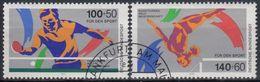ALEMANIA FEDERAL 1989 Nº 1240/41 USADO - [7] República Federal