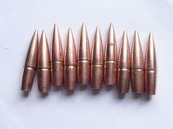 10 Ogives Françaises Cartouches 8mm Fusil Lebel  1914  1918 Ww1 Poilu - 1914-18