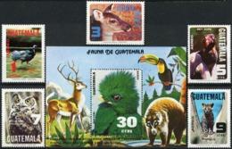 GUATEMALA 1979 Animals, Turkey, Vulture, Birds, Fauna MNH - Guatemala