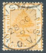 Orange Free State 1878. 1sh Orange-yellow. SACC 12. SG 9. - Stato Libero Dell'Orange (1868-1909)