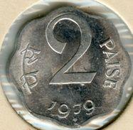 Inde India 2 Paise 1979 H KM 13.6 - India