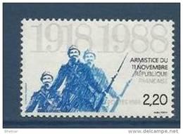 """FR YT 2549 """" Armistice 1918 """" 1988 Neuf** - France"""